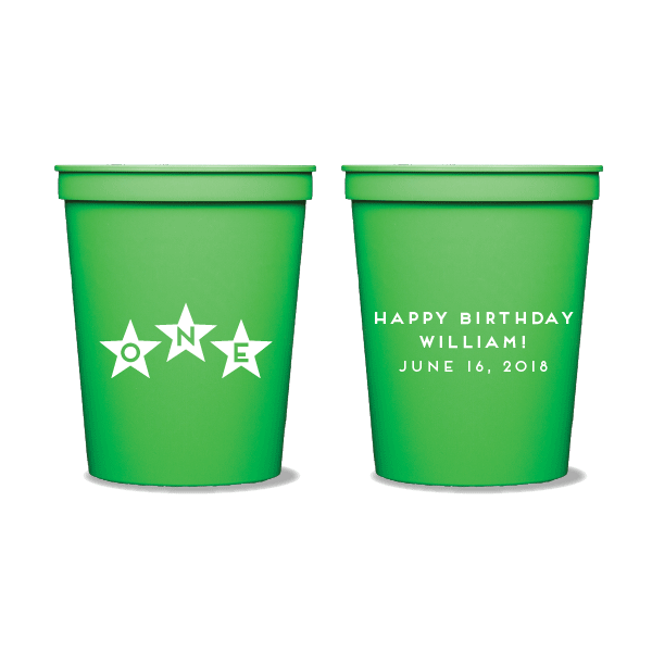 First Birthday Stars Party Cups