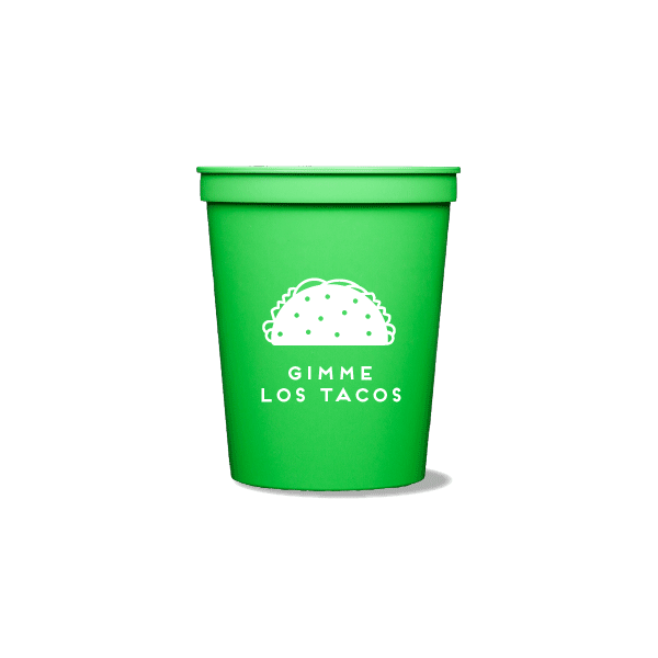 Gimme Los Tacos Party Cups