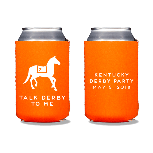 Talk Derby To Me Can Coolers