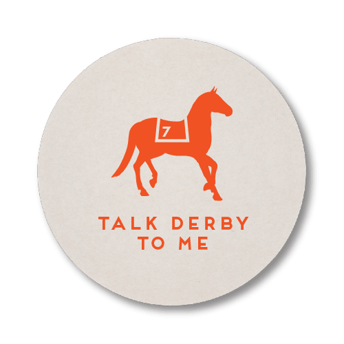 Talk Derby To Me Coasters