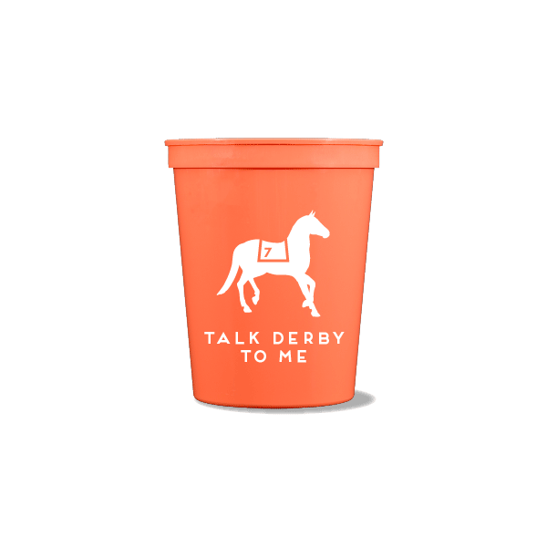 Talk Derby To Me Party Cups