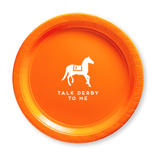 Talk Derby To Me Paper Plates