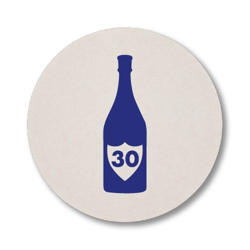 Champagne Birthday Coasters