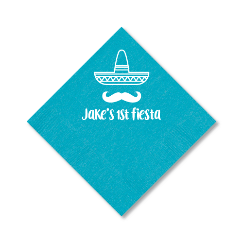 First Fiesta Cocktail Napkins