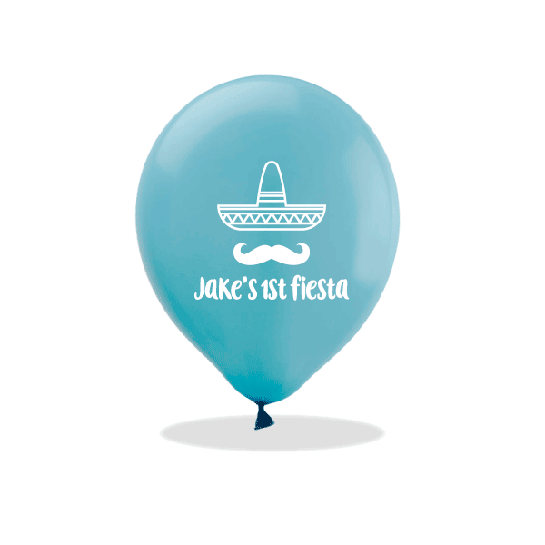 First Fiesta Latex Balloons