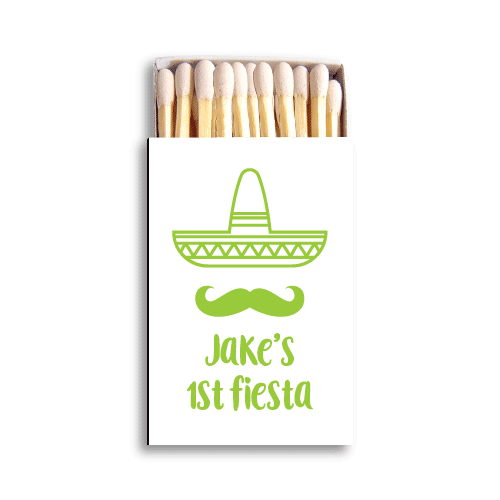 First Fiesta Matchboxes
