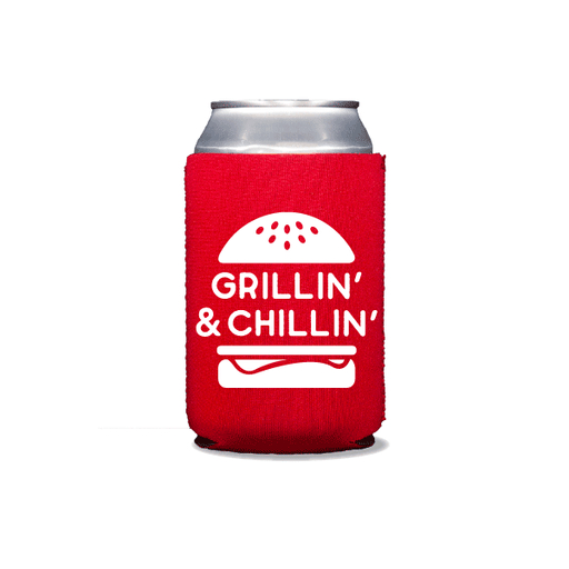 Grillin' & Chillin' Can Coolers