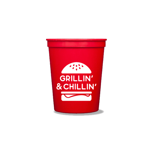 Grillin' & Chillin' Party Cups