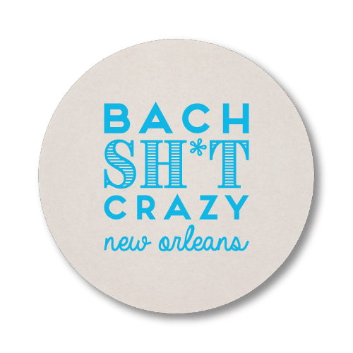 Bach Sh*t Crazy Coasters