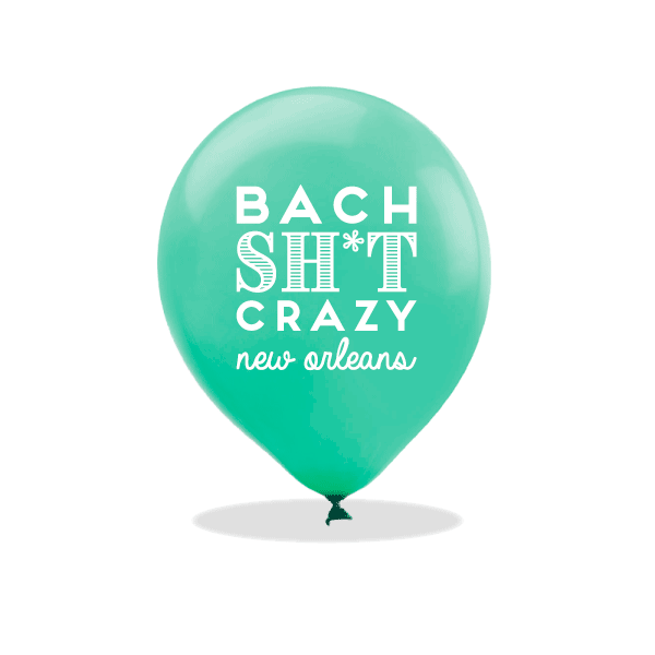 Bach Sh*t Crazy Latex Balloons