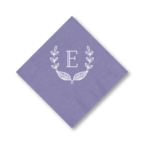 Rustic Laurel Cocktail Napkins