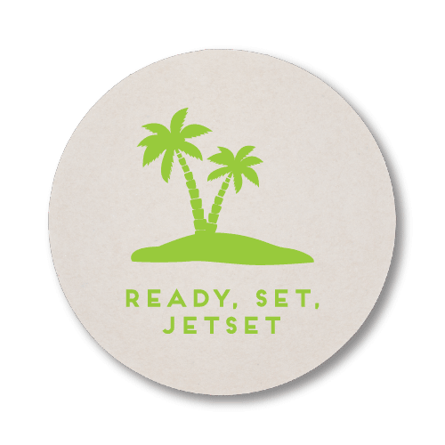Ready, Set, Jetset Coasters