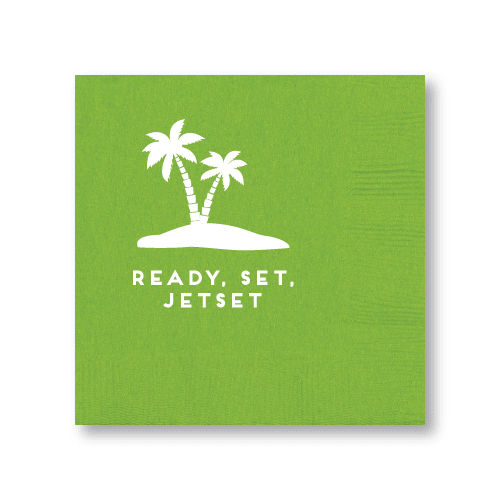 Ready, Set, Jetset Cocktail Napkins
