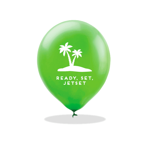 Ready, Set, Jetset Latex Balloons