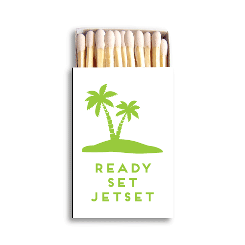 Ready, Set, Jetset Matchboxes