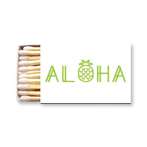 Aloha Pineapple Matchboxes