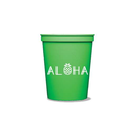 Aloha Pineapple Party Cups
