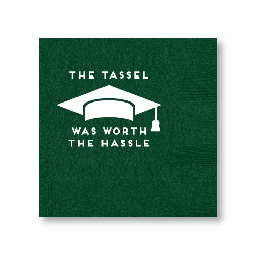 The Tassel Was Worth the Hassle Cocktail Napkins