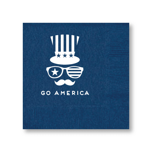 Happy Birthday, America Cocktail Napkins