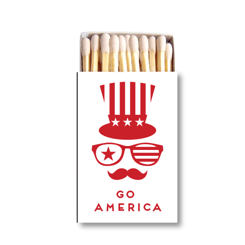 Happy Birthday, America Matchboxes