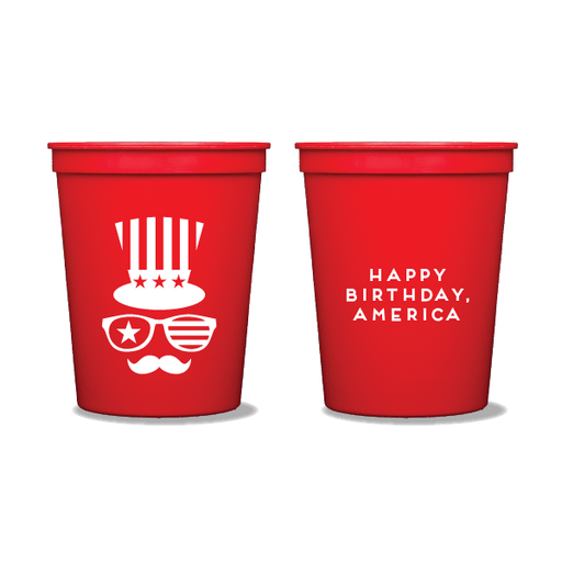 Happy Birthday, America Party Cups