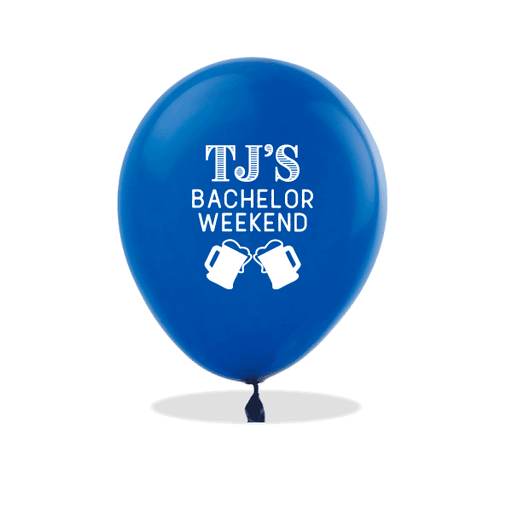 Bachelor Weekend Steins Latex Balloons