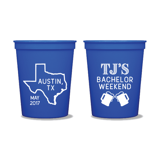 Bachelor Weekend Steins Party Cups