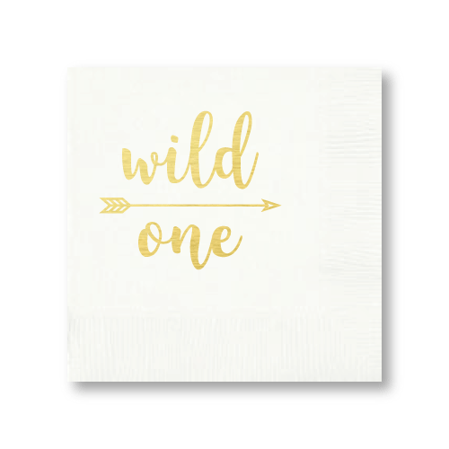 Wild One Cocktail Napkins