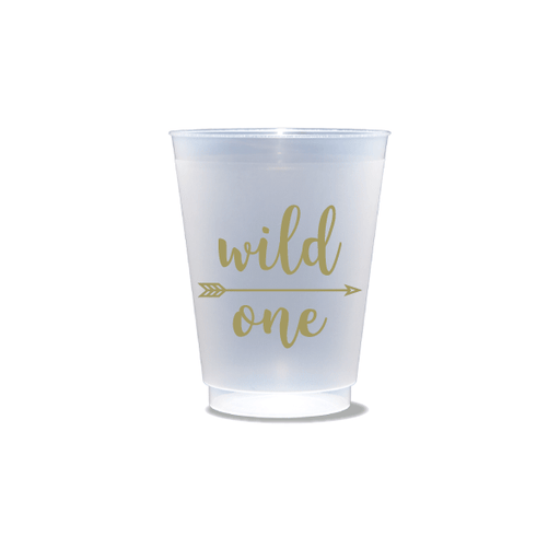 Wild One Frosted Cups