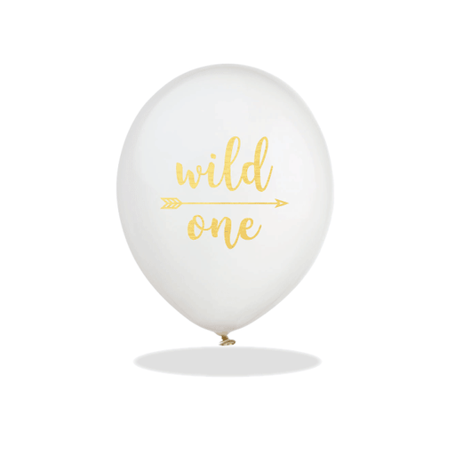 Wild One Latex Balloons