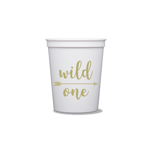 Wild One Party Cups