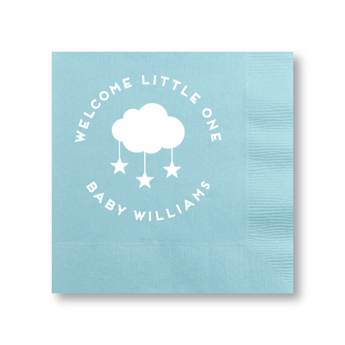 Welcome Little One Cocktail Napkins