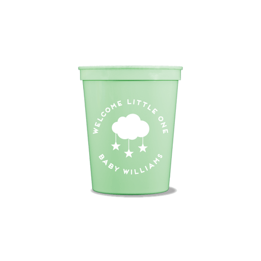 Welcome Little One Party Cups