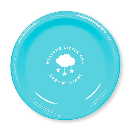Welcome Little One Plastic Plates