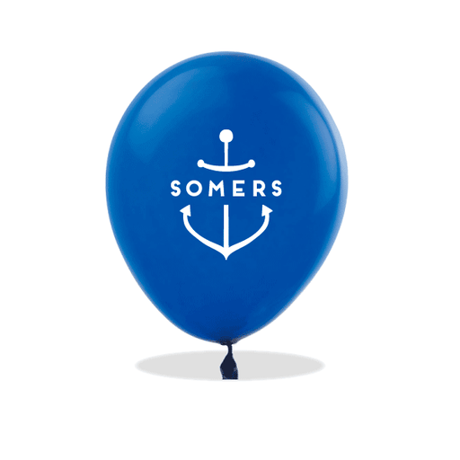 Personalized Anchor Latex Balloons