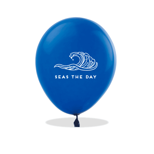 Seas The Day Latex Balloons