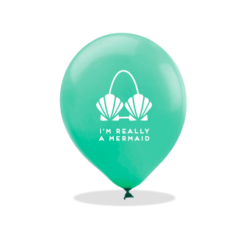 I'm Really A Mermaid Latex Balloons