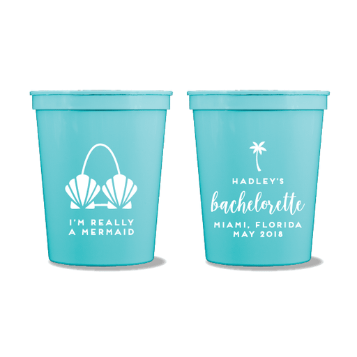 I'm Really A Mermaid Party Cups