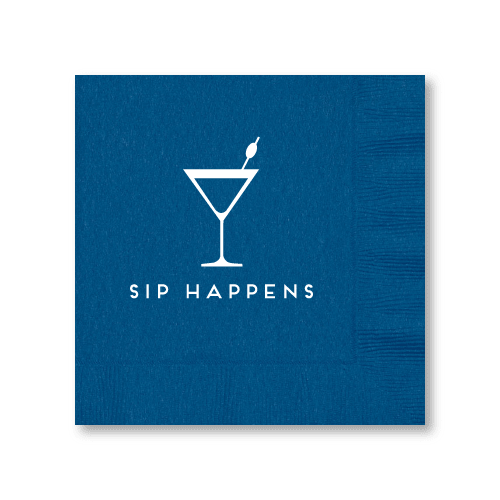 Sip Happens Luncheon Napkins