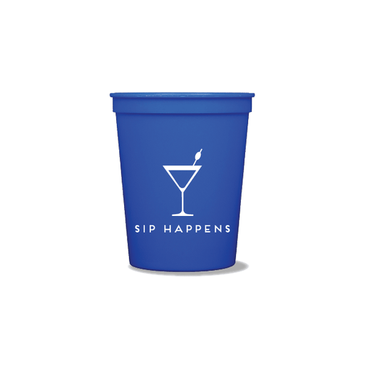 Sip Happens Party Cups