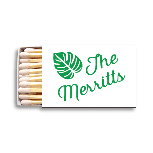 Tropical Leaves Matchboxes