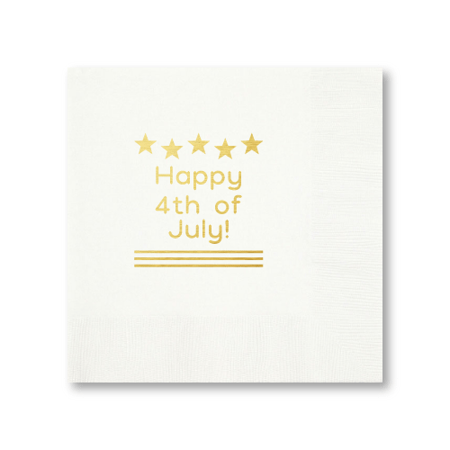 Happy 4th of July Dinner Napkins