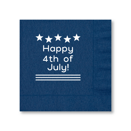 Happy 4th of July Luncheon Napkins