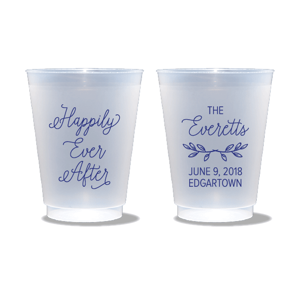 Happily Ever After Frosted Cups