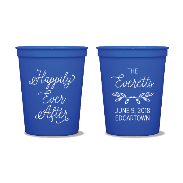 Happily Ever After Party Cups