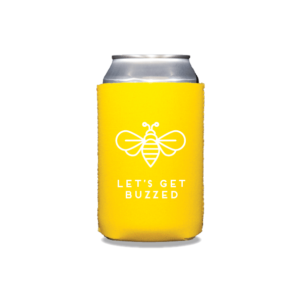 Let's Get Buzzed Can Coolers
