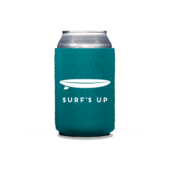 Surf's Up Can Coolers