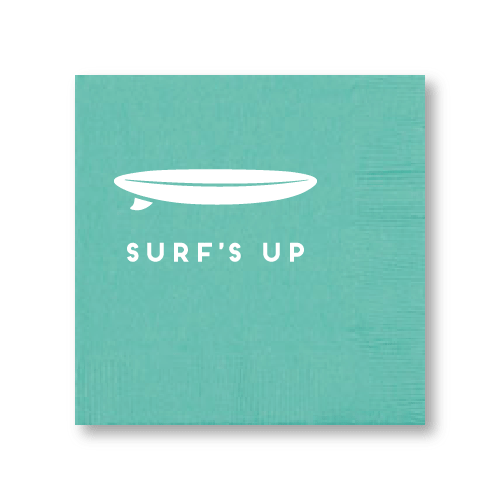 Surf's Up Cocktail Napkins