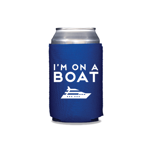 I'm On a Boat Can Coolers