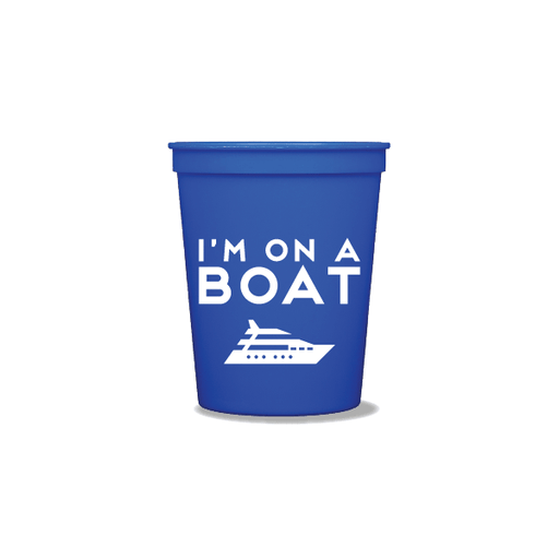 I'm On a Boat Party Cups
